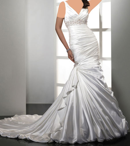 مدل لباس عروس برند Midgley