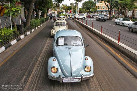 فستیوال رژه ماشین های کلاسیک در تبریز