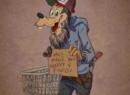 وقتی شخصیت های کارتونی پیر و فرتوت میشن