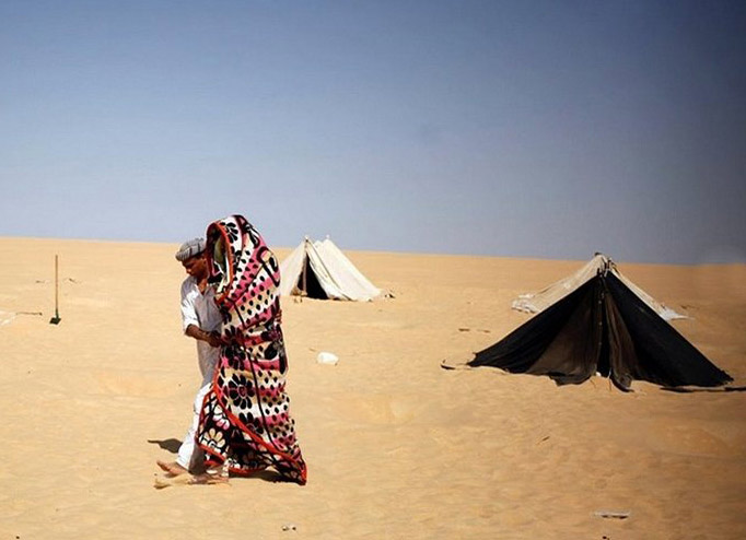 عکس های شندرمانی در مصر برای روماتیسم، درد مفاصل، ناباروری و یا ناتوانی جنسی