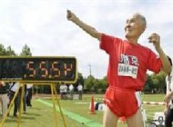 مرد 105 ساله دونده رکورد زد
