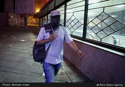 تصاویر حول ناک محو شدن تهران در طوفان دیشب و خسارات ناشی از آن