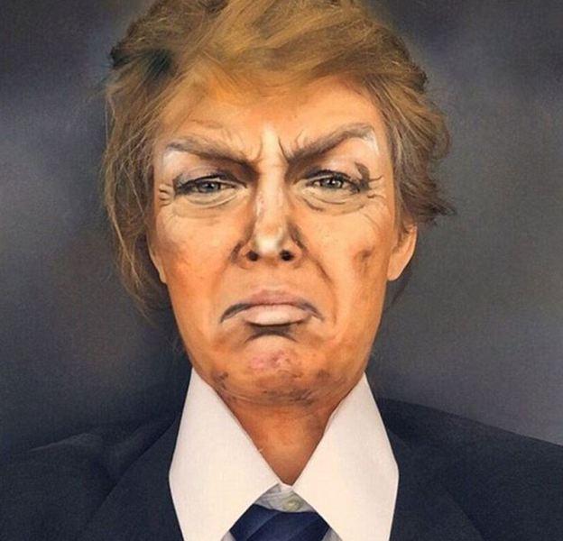 حرفه ای ترین گریمور جهان با هزار چهره