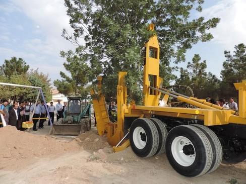 اقدام جدید انتقال درخت به جای قطع آن در ایران