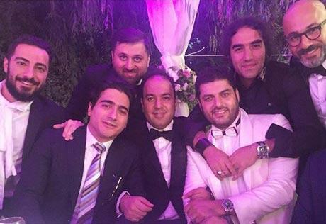 ماجرای خرید عروسی و سورپرایز سام درخشانی برای همسرش عسل امیرپور