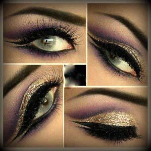 تصاویر مدلهای جذاب آرایش خلیجی چشم