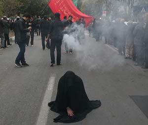 بانوی شیرازی نذر عجیبش را در عاشورا ادا کرد + عکس