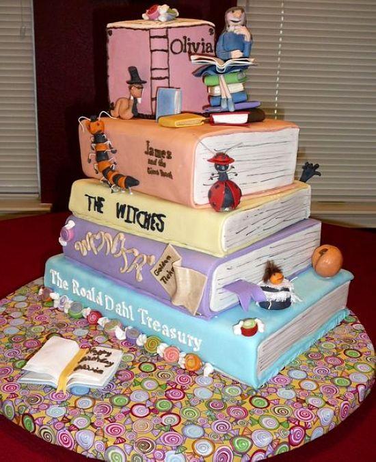 عکس کیک های تولد جالب