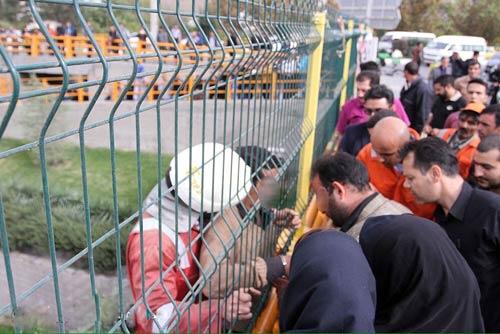 نجات زیرکانه یک مرد از خودکشی در مشهد + تصاویر