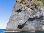 تصاویر دیدنی صخره ای به شکل فیل