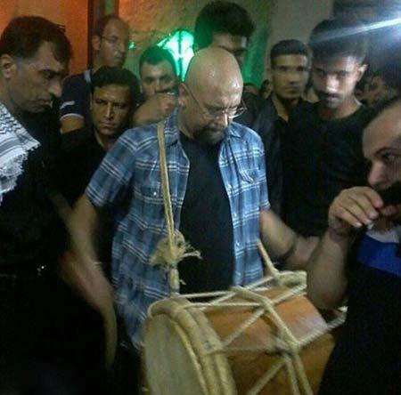 تصاویر عزاداری جناب خان در مراسم بوشهر