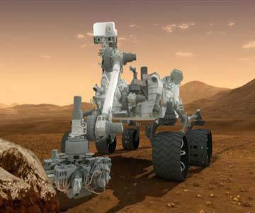 کارت پستالی که از مریخ ارسال شد ! + عکس