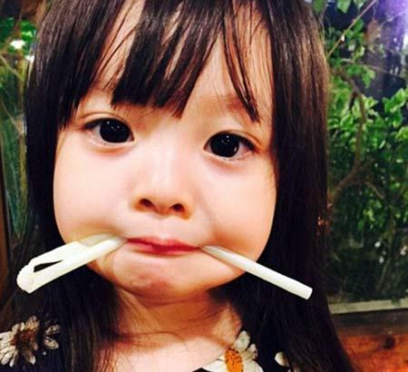 عکسهای بامزه ترین دختر در اینستاگرام
