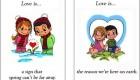 معنای عشق از نگاه بر چسب آدامس….love is