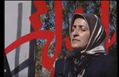 مداحی این زن برای مردان در عزاداری محرم + عکس
