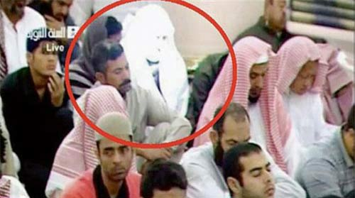جنجال مرد نورانی در مسجد الحرام + تصاویر