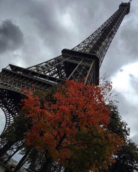 تازه ترین عکسهای الناز شاکر دوست در پاریس
