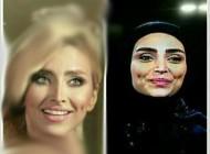 جنجال تیپ خاص الهام عرب در هیئت عزاداری + عکس