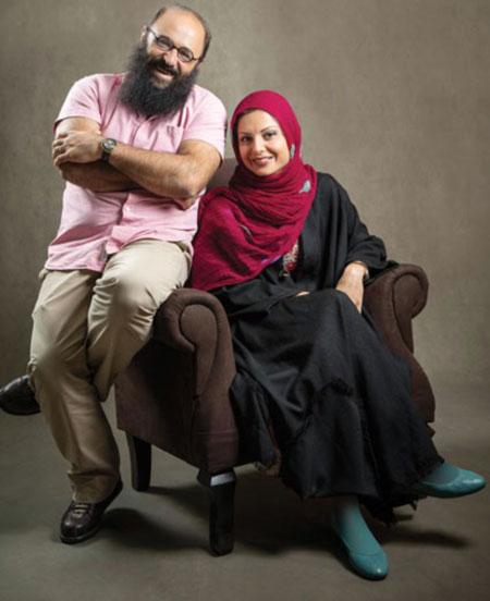 صحبتهای عاشقانه بازیگر زن و شوهرش در تجریش + عکس