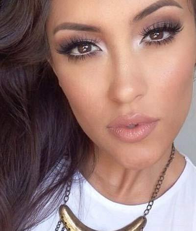 عکس های جدیدترین و زیباترین مدل آرایش دختران