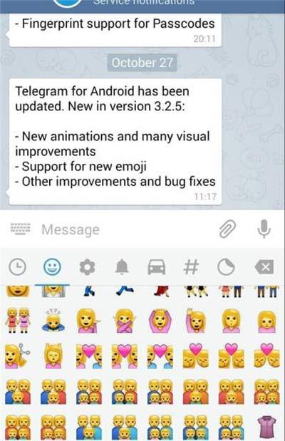 شکلک های همجنسگرایی به تلگرام اضافه شد + عکس