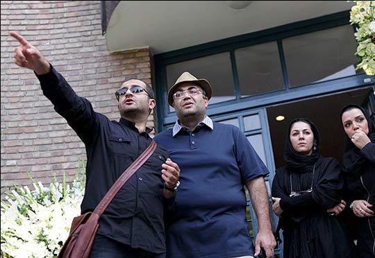تصاویر حضور بازیگران در مراسم تشییع پیکر هما روستا