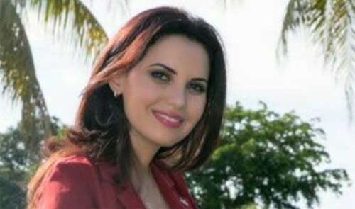 زن زیبای سوریه ای کاندید ریاست جمهوری آمریکا شد + عکس