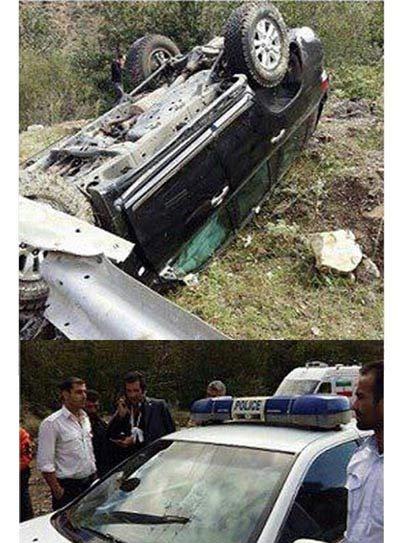 نواب صفوی برای رسیدن به دادگاه خود را از بیمارستان مرخص کرد + عکس