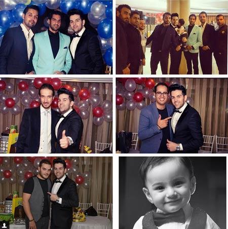 جشن تولد پسر عماد طالب زاده + عکس