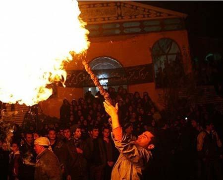 مراسم عزاداری سنتی مردم یزد در پیشواز ماه محرم