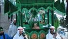 تصاویر عجیب حضور یک جن و سپاه اجنه در تعزیه کربلا