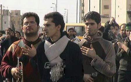 تصاویر دیدنی از مداحی مرحوم مرتضی پاشایی