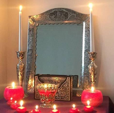 آینه و شمعدان ازدواج مجدد آزاده نامداری +تصاویر