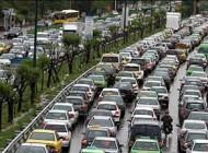 سقوط وحشتناک جرثقيل در خيابان خيام تهران + عکس