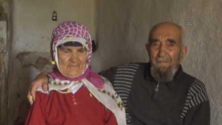 زن و مرد عاشق بعد از 77 سال با هم ازدواج کردند + عکس
