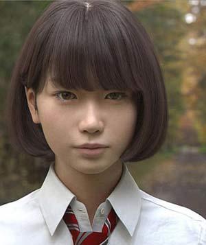باورتان میشود این دختر واقعی نیست ؟ + تصاویر