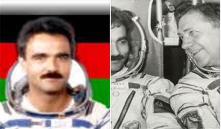 این فضانورد سی سال پیش قران را به فضا برد + عکس