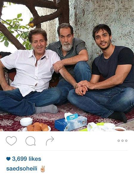 جدیدترین عکسهای بازیگران و هنرمندان در اینستاگرام