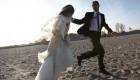 عروس و داماد قلابی به سوئد فرار کردند + تصاویر