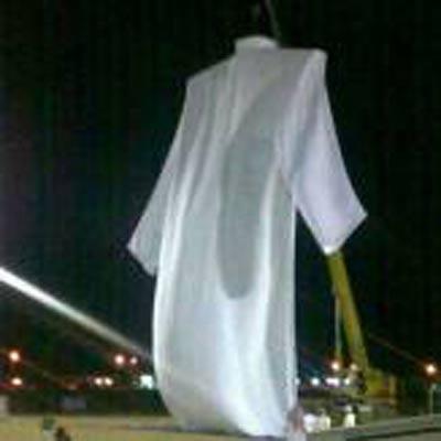 اختراعی از نوع سعودی دشداشه حضرت آدم ! + تصاویر