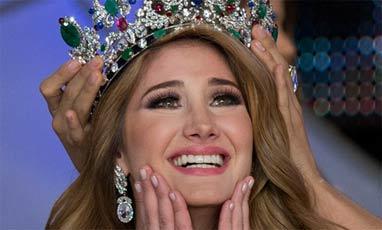 دختر زیبای اهل سوریه ملکه زیبایی 2015 و دختر شایسته ونزوئلا شد+ تصاویر