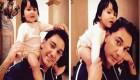 شادمهر عقیلی اسم دخترش را روی دستش خالکوبی کرد + عکس