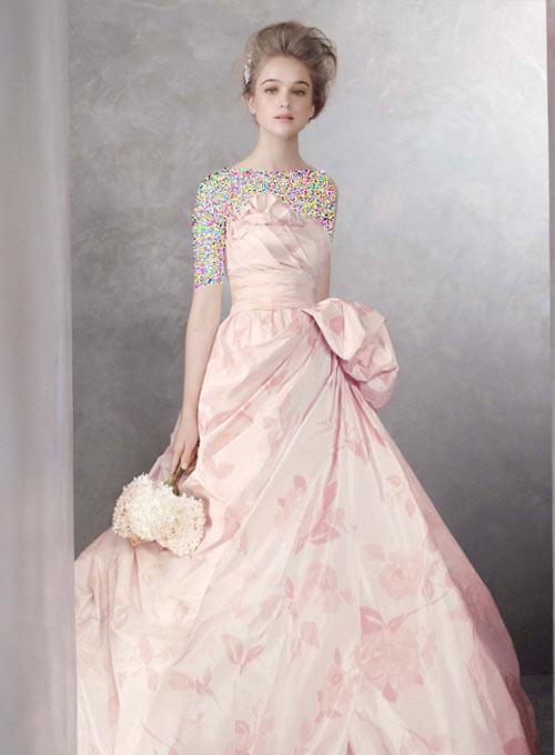 زیباترین مدل لباس نامزدی پرنسسی جدید 2016
