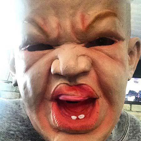 تیپ چهره های هالیوودی در جشن هالووین