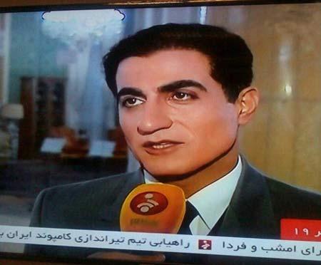 مصاحبه جالب محمد رضا شاه با شبکه خبر ایران   عکس