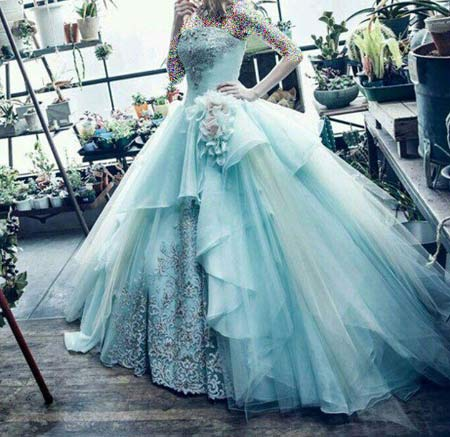 لباس عروس+ لباس عروس1395-1396+شیک ترین عکس لباس عروس2017-2016