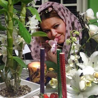 کیک تولد با نام پریا جشن تولد چهل و دو سالگی بهاره رهنما + عکس