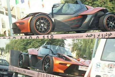 ورود دو ماشین عجیب و گرانقیمت به تهران + عکس