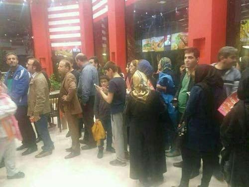 استقبال از اولین رستوران آمریکایی در تهران + عکس