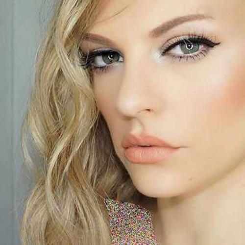 مدل آرایش شیک دختران خوشگل و زیبا 2016